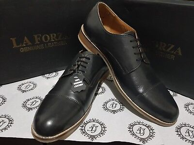 100% Geniune Leather Shoes For Men (la Forza) [high Quality Cheap Price]
