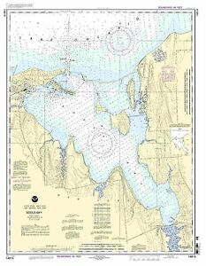 NOAA Chart Sodus Bay 26th Edition 14814