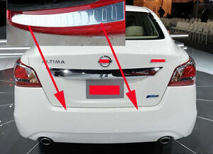 Rear Bumper Protector Steel Cover for 2013-2015 Nissan ...