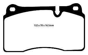DP31922C EBC Redstuff Front Brake Pads fit Range Rover  Range Rover Sport