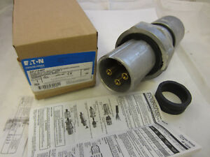 CROUSE HINDS 100 AMP 4W 4P PLUG APJ10477 MATES WITH AR1041 = APP ACP1044CD