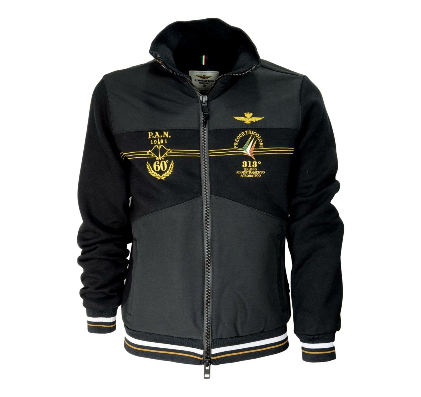 Aeronautica militare Sweatshirt Jacket 60 Anniversary Arrows Tricolour