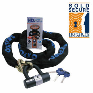 Oxford-HD-Motorbike-Motorcycle-Chain-Lock-Padlock-2m-ART-4114-Sold-Secure-OF160