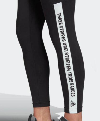 Adidas Damen Long Tights Leggings Laufhose Running SID Jogginghose schwarz