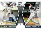 2011 Topps Rickey Henderson #DD-HJ Baseball Card