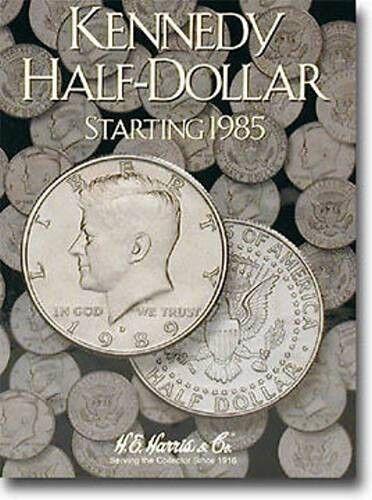HARRIS Kennedy Half Dollar Volume 2 Two 1985-1999 Folder Album #2697