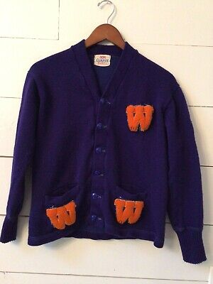 wool cardigan wool knit sweater 1960s cardigan sold color sweater 1950s sweater Vintage navy blue sweater fall fashion 50s sweater