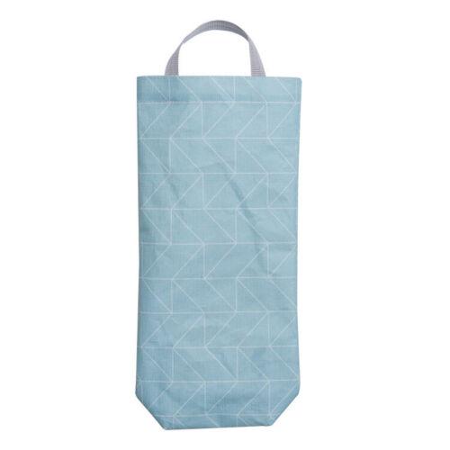 Home Kitchen Organizers Plastic Storage Dispenser Grocery Bag Holder Wall Mount