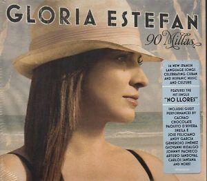 GLORIA-ESTEFAN-90-MILLAS-CD-NUOVO-SIGILLATO-DIGIPACK
