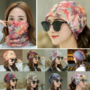 Women-Lace-Muslim-Ruffle-Cancer-Chemo-Hat-Beanie-Scarf-Turban-Head-Wrap-Cap-Hat