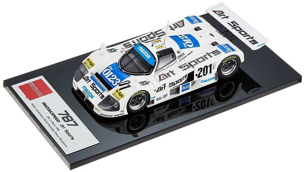 Eidolon 1 43 Mazda 787 chargeart Sports 1990 Le Mans EM310 Japón EMS