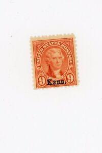 1929-Kansas-Nebraska-Issue-Scott-Catalog-667-MNH