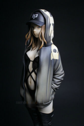 Unpainted WF2018 Wakker Girl Resin Figure Model Kit Garage Unassembled Statue