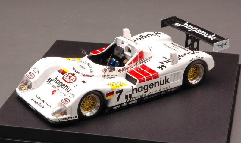 Porsche joest winner Donington 1997 S. johansson p. Martini 1 43 Model