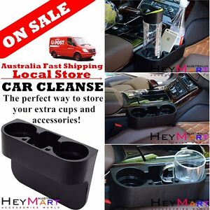 Stand Car Double Cup Holder Can Holder Valet Coffee Bottle Drink Holder Trave^+