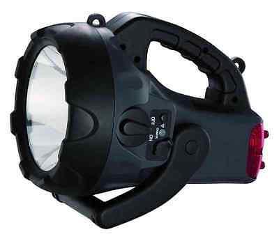 Torcia Ricaricabile 5w Led Cfg Patriot El008 Lucequadra Lampada Portatile Lumen