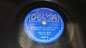 SHELTON-BROTHERS-Answer-To-Blue-Eyes-Someone-To-Love-You-78-Decca-5440-BROS