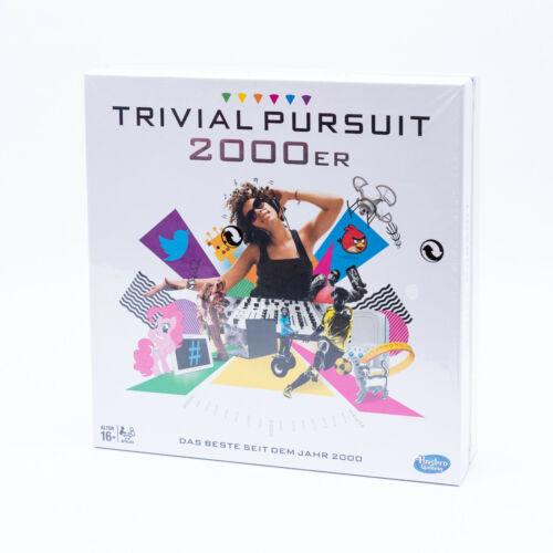 Hasbro B7388100 Trivial Pursuit 2000er Edition Gesellschaftsspiel Wissens Spiel