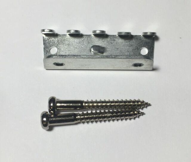 Chrome Guitar Bridge Claw & Screw for Floyd Rose Mexican Japan Fender Tremolo