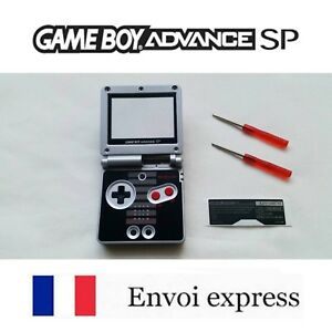 Coque-GAME-BOY-ADVANCE-SP-edition-NES-NEUF-NEW-tournevis-shell-case-GBA