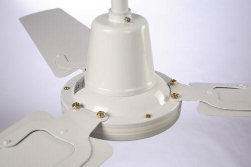 Hydor Ventilateur de plafond 55 in environ 139.70 cm déstratification Sweep Ventilateur Vitesse 230 V contrôlable