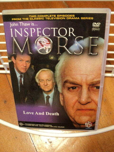 Inspector Morse - TV Series - Complete Series 4 episodes 12, 13, 14 & 15 NEW