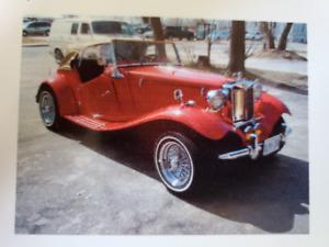 1952 MGTD Convertible Kit Car