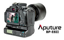 SUPER OFFERTA Battery Grip BP-E8II CANON 600D 550D 650D 700D Aputure PRO DISPLAY