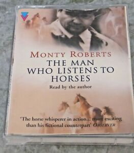 Monty-Roberts-Reads-The-Man-who-Listens-to-Horses-Audio-book-Cassette-Tape-1997