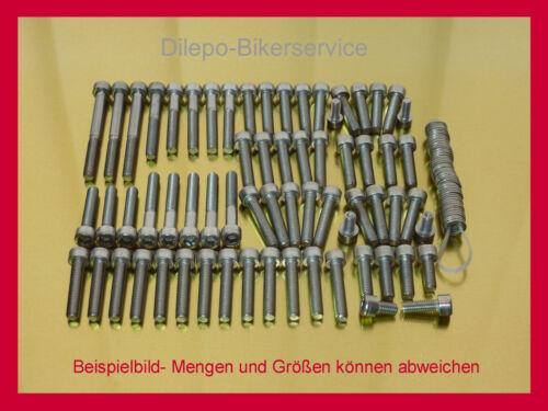 Suzuki Marauder VZ800  VZ 800 Edelstahl Schrauben Schraubensatz Motorschrauben