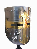 Sugarloaf Helmet with liner for re-enactment / larp / role-play / fancy-dress