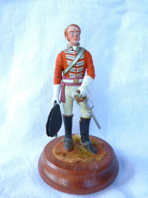 Un fou de Noël remporte une grande concurrence Soldat de plomb 90mm - British officer 4th dragoons 1796-1811 | De La Mode