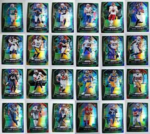 2019 Panini Prizm Green Parallel Football Cards Complete Your Set U Pick 1-400