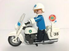 PLAYMOBIL VINTAGE 3564 MOTORCYCLE PARTS FRAME TIRE SADDLEBAG SHERIFF 3581-CHOOSE