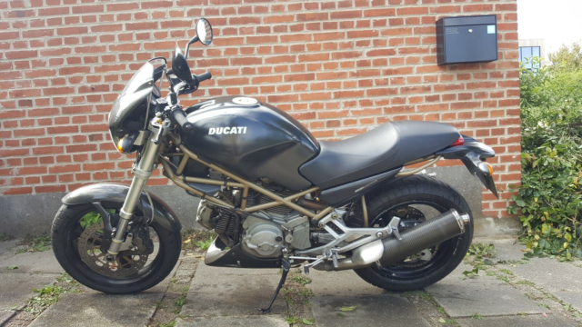 Ducati, Monster M600 Dark, 600 ccm, 55 hk, 2001, 50000 km,…