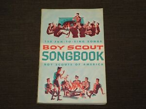 VINTAGE BSA BOY SCOUTS OF AMERICA 1964 150 FUN TO SING SONGS SONGBOOK BOOK