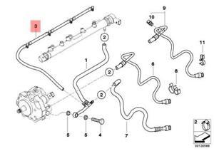 BMW 3 E90 Overflow Oil Line 13537799869 7799869 NEW GENUINE
