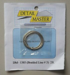 BRAIDED-LINE-3-1-24-1-25-DETAIL-MASTER-CAR-MODEL-ACCESSORY-1303