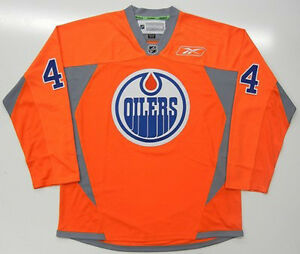 dbc8ee7a8 Image is loading TAYLOR-HALL-EDMONTON-OILERS-ORANGE-REEBOK-PREMIER-JERSEY