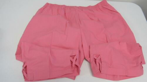 Women/'s Plus Size Capris Pants Pink Green White Blk Elastic Waist UPick Size NEW