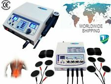 New 1 Mhz Ultrasound Therapy 4 Channel Electrotherapy Multi Therapy Combo Unit