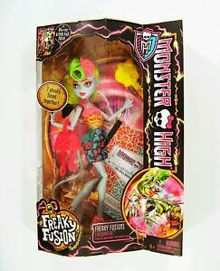 Image Is Loading Mattel MONSTER HIGH Freaky Fusion Lagoonafire Doll