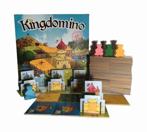 Giant Kingdomino Board Game SEALED UNOPENED FREE SHIPPING