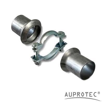 Universal Reparaturflansch Ø 40 - 60 mm Auspuffrohr Abgasrohr Rohr Abgasanlage