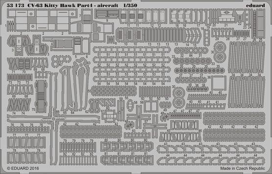 EDUARD 1 350 USS Kitty Hawk CV-63 PARTE 4 4 4 - Aereo 52a9c9