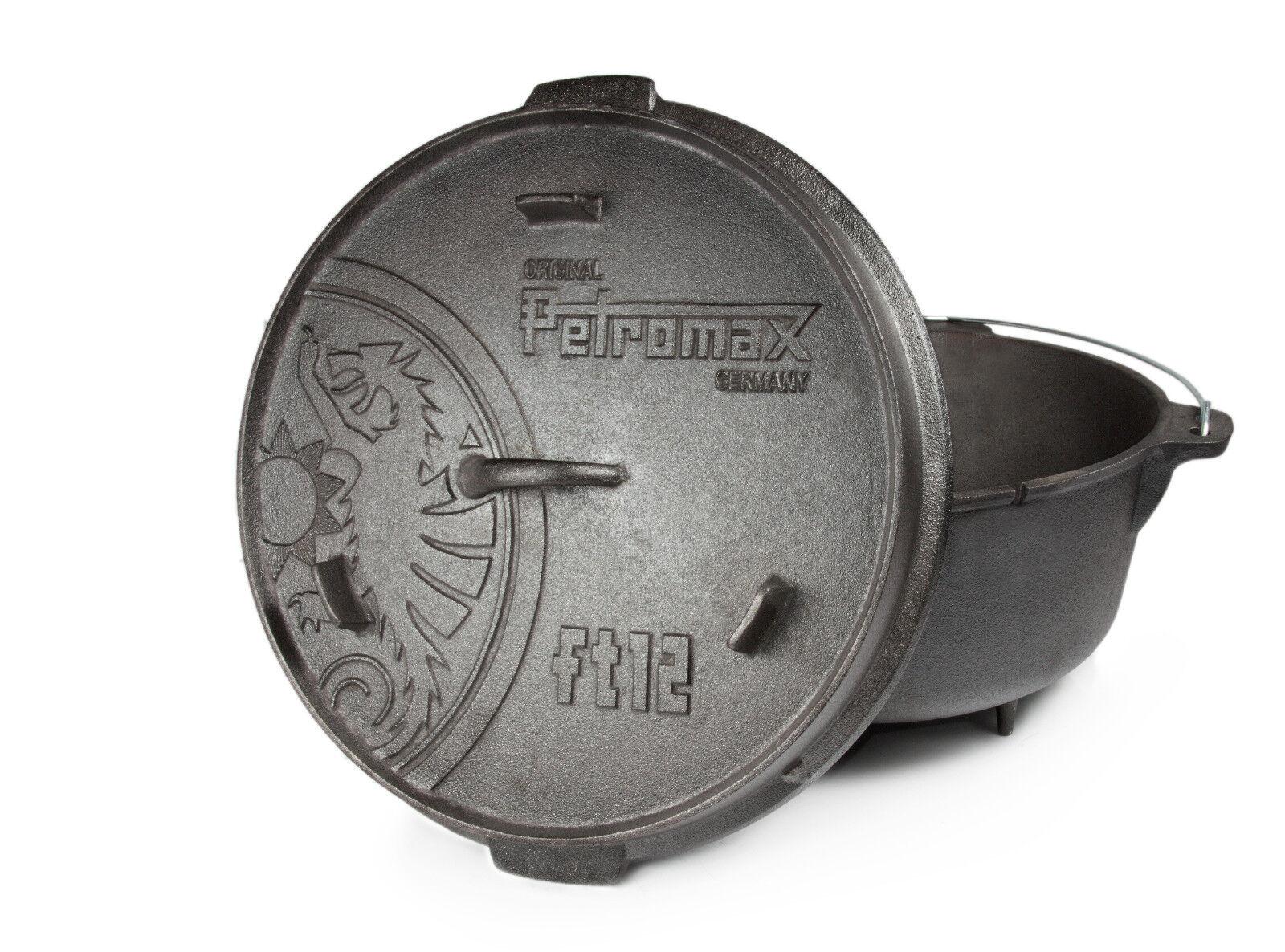 Petromax  Dutch Oven mit Füssen NEU Ft6-Ft12  6Sets zur Auswahl
