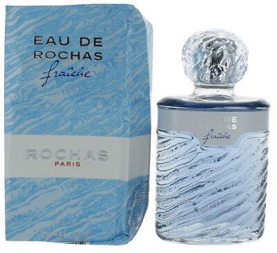 Eau De Rochas Fraiche Por para Mujer EDT Perfume Salpicadura 219ml DB Nuevo   eBay