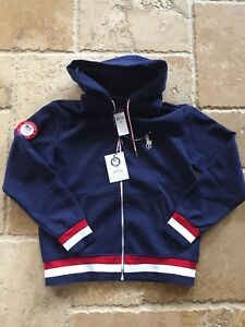 Polo Ralph Lauren 2018 Pyeongchang Olympic Zipper Sweater Team Usa