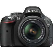 Nikon D5200 24.1MP DSLR Camera with 18-55mm VR Lens Kit - Factory Refurbished