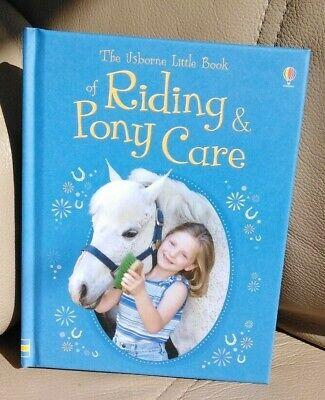 Usborne Libricino Di A Cavallo & Pony Care (rilegato) Da R Dickins G Harvey-nuovo-mostra Il Titolo Originale